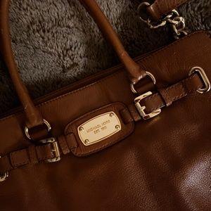 Michael Kors Bags - Micheal Kors Large brown Leather satchel